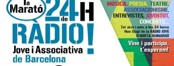 Marató de 24h de ràdio a BocaRàdio!