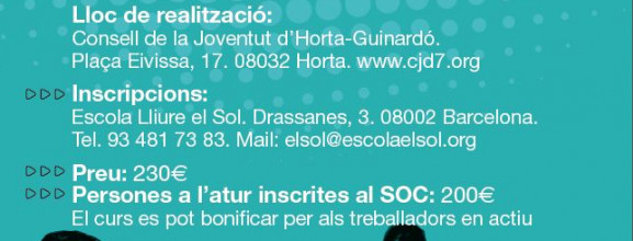 Curs de monitor/a i director/a a Horta-Guinardó!