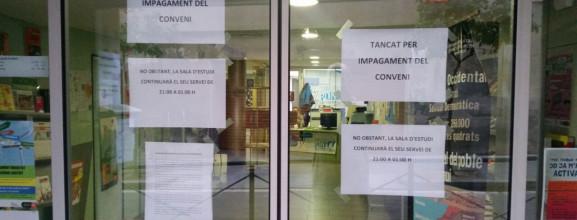 Comunicat del Consell de la Joventut d'Horta-Guinardó: El Punt7, tancat per impagament